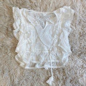 White tularosa top